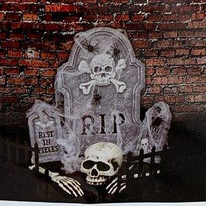 Halloween Tombstone 14 Piece Set Dramatic Scary